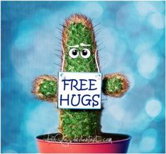 Hug your inner cactus